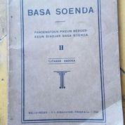 Buku Basa Soenda Terbitan Tahun 1930