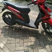Honda Beat Tahun 2012 Warna Merah
