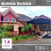 Rumah Murah 2 Lantai Luas 145 Di Bunga Bunga Sukarno Hatta Kota Malang _ 362.18 (19832635) di Kota Malang