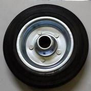"""Roda Etalase 4"""" Wheel Only / Roda Karet / Roda Trolley / Roda Gerobak"""