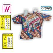 Model Baju Kerja, Koleksi Baju Batik Terbaru, Batik Couple, CBF009SBB (19851111) di Kota Mojokerto