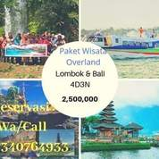 Paket Overland Wisata Lombok Bali (19864515) di Kota Mataram