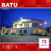 Hotel 26 Kamar Luas 8.483 Di Brantas Sisir Kota Batu Malang _ 249.19 (19869011) di Kota Malang