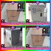 SVC-10KVA Stabilizer MATSUNAGA Servo Motor 10.000W 10000Watt 10K VA Stavol 1 Phase MCB Soft Start