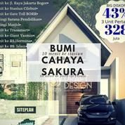 Rumah Di Bogor Kota Dekat Tol Dan Stasiun Bumi Sakura Ada Promo Diskon (19901007) di Kota Bogor