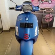 New Vespa Sprint S LED 150 I Get ABS (BLUE VIVACE)