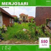 Tanah Kavling Luas 92 Di Merjosari Sigura Gura Kota Malang _ 259.19
