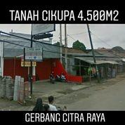 Tanah Cikupa 4.500m2 Dekat Gerbang Citra Raya Kab Tangerang Banten (19918363) di Kab. Tangerang