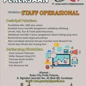 Dibutuhkan Staff Operasional (19923851) di Kota Surabaya