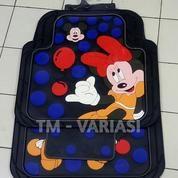 Karpet Mobil Universal Motif Mickey Minnie Balon Dasar Hitam (19934143) di Kota Jakarta Pusat
