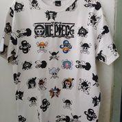 T-Shirt White One Piece