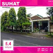 Rumah 2 Lantai Luas 494 Di Sukarno Hatta Kota Malang _ 345.18 (19976615) di Kota Malang