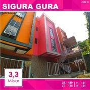 Rumah Kost Murah 21 Kamar Luas 118 Daerah Sigura Gura Kota Malang _ 298.19 (20059259) di Kota Malang