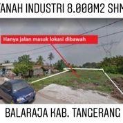 Tanah Balaraja 8.000m2 Zona Industri Kab Tangerang Banten (20073935) di Kab. Tangerang