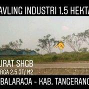 Kavling Industri Balaraja 1.5 Hektar Kab Tangerang Banten (20097067) di Kab. Tangerang