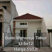 #A1537 ROW 2 Mobiol Rumah Terawat Siap Huni Bumi Wonorejo Timur 1Lt SHM 550JT (20101883) di Kota Surabaya