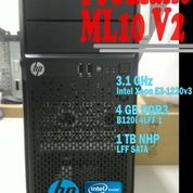 Komputer Server HP ProLiant ML10 V2 Tower Intel Xeon 3.1GHz 4GB 1TB Bergaransi (20104519) di Kota Bekasi