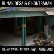 Rumah Hitung Tanah Saja 1 Rumah Dan 8 Kontarakan Di Cikupa Kab Tangerang (20108831) di Kab. Tangerang