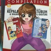"""Buku Menggambar Manga For Beginners """"Let's Draw Compilation"""" (20116579) di Kota Bandung"""