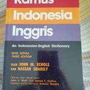 Kamus Indonesia Inggris 3rd Edition + Sampul (20116711) di Kota Bandung