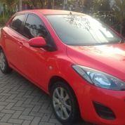 Mobil Mazda2 Merah Cantik A/T Thn 2011 MURAH
