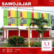 Ruko Murah Daerah Danau Toba Sawojajar Kota Malang _ 50.19 (20136035) di Kota Malang