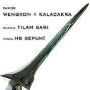 Keris Tilam Sari Pamor Wengkon HB Sepuh (20149363) di Kab. Sukoharjo