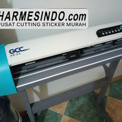 ALAT CETAK STICKER OTOMATIS MURAH PAPUA   Mesin Cutting Plotter Pemotong Stiker Vinyl Polyflex