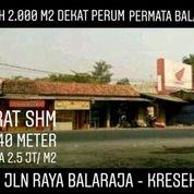 Tanah Balaraja 2.048m2 Pinggir Jalan Utama Balaraja - Kresek Kab Tangerang (20184007) di Kab. Tangerang