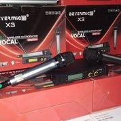 Microphone Werless Beyer X-3 Uhf Digital Frequenzy 2 Mic