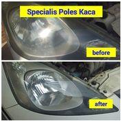 Poles Kaca Lampu Mobil / Kaca Depan Sopir Kembali Clink (20190371) di Kota Malang
