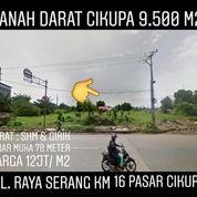 TANAH STRATEGIS DI CIKUPA 9.500 M2 KAB TANGERANG PROPINSI BANTEN (20193967) di Kab. Tangerang