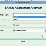 Resetter Epson M100 M200 Full Version Banyak PC