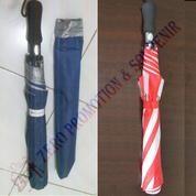 Payung Golf Lipat 2 Polos Tanpa Cetak (20228411) di Kota Tangerang
