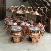 Chaffing Dish Copper Materials