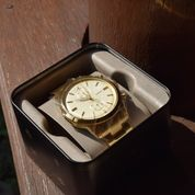 Jam Tangan Fossil FS5348 Townsman Chronograph Stainless Steel Gold Band Original Brand New (20283439) di Kota Jakarta Timur