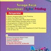 Lowongan Tenaga Digital Printing (20327991) di Kota Surabaya