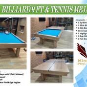 Meja Billiard 3 Fungsi Meja Makan-Billiard-PingPong Tenis Meja