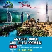 [PROMO SPECIAL] 5 Hari Amazing Dubai Plus Abu Dhabi Premium (20340235) di Kota Jakarta Pusat