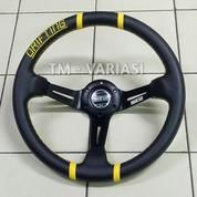 Stir Racing Import Drifting Celong 14 Inchi Palang Hitam List Kuning (20345371) di Kota Jakarta Pusat