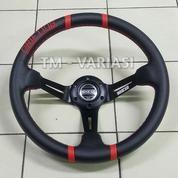 Stir Racing Import Drifting Celong 14 Inchi Palang Hitam List Merah (20345395) di Kota Jakarta Pusat