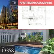 Apartemen Casa Grande, Tower Bella, Jakarta Selatan, 88 M, Lt 33 (20355747) di Kota Jakarta Selatan