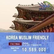 5 Hari 3 Malam Enjoy Korea Muslim Friendly In Summer (20370383) di Kota Jakarta Pusat
