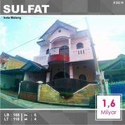 Rumah 2 Lantai Luas 118 Daerah Sulfat Kota Malang _ 332.19