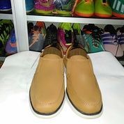 Sepatu Semi Boots Setengah Mata Kaki -Justin Otto 34568 Full Kulit Asli