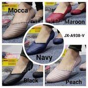 Sepatu Cewe Wanita Karet Jelly Karis Jx 4538 Flat Shoes Teplek (20392231) di Kota Sukabumi