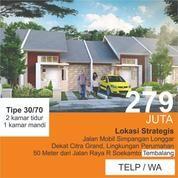 Rumah Tembalang 50 M Dari Jalan Besar (20415999) di Kota Semarang