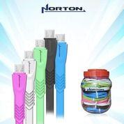 Kabel Data NORTON Type V8 Gepeng - Micro