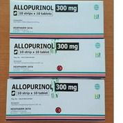Allopurinol 300 Mg Tablet Per Box