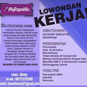 Loker Account Executive (AE) / Sales Marketing MyRepublic (20439999) di Kota Semarang